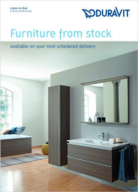 Duravit stock furniture ranges rgc - Duravit bathroom furniture uk ...