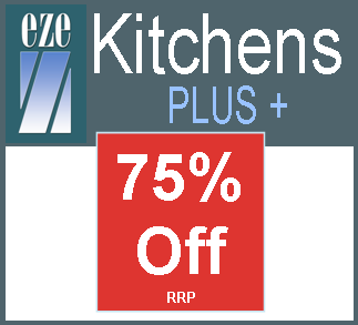 EZE Kitchens plus 75% off image