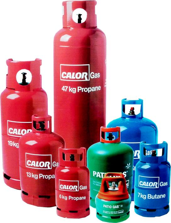 Calor propane bottled gas image